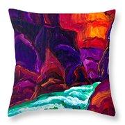 Grand Canyon II Throw Pillow