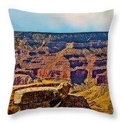 Grand Canyon Mather Viewpoint Throw Pillow