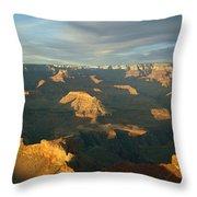Grand Canyon National Park, Arizona, Usa Throw Pillow