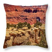 Grand Canyon National Park South Rim Throw Pillow