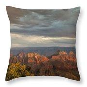 Grand Canyon North Rim Sunset Throw Pillow