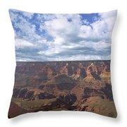 Grand Canyon Np Daytime Panorama Throw Pillow