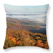 Grand Canyon Of Arkansas Throw Pillow
