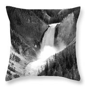 Grand Canyon Of The Yellowstone  Throw Pillow