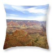 Grand Canyon  Throw Pillow by Scott Pellegrin