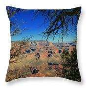 Grand Canyon - South Rim 1  Throw Pillow