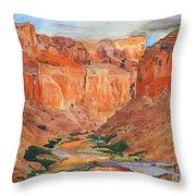 Grand Canyon Splendor Throw Pillow