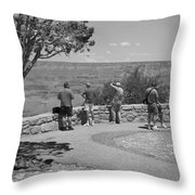 Grand Canyon Tourism Throw Pillow