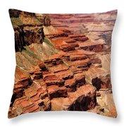 Grand Canyon Valley Depths Throw Pillow