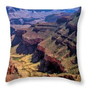 Grand Canyon Valley Trail Throw Pillow