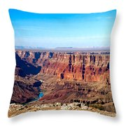 Grand Canyon Vast View Throw Pillow