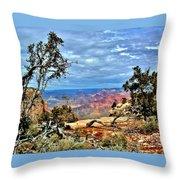 Grand Canyon View IIi Throw Pillow