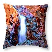 Grand Canyon Waterfall Throw Pillow