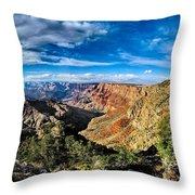 Grand Canyon Xxi Throw Pillow
