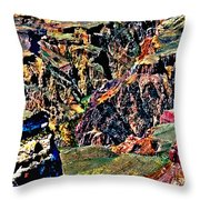 Grand Canyon Yaki Viewpoint Throw Pillow