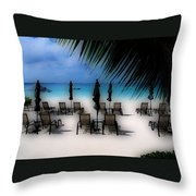 Grand Cayman Dreamscape Throw Pillow