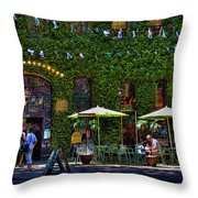 Grand Central Arcade - Seattle Throw Pillow