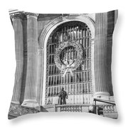 Grand Central Christmas Throw Pillow