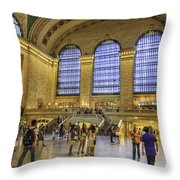 Grand Central Throw Pillow