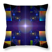 Grand Central Star Station Throw Pillow