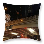Grand Central Station At Pershing Square Throw Pillow