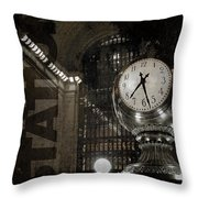 Grand Central Station New York City Throw Pillow