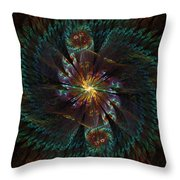Grand Dame Throw Pillow