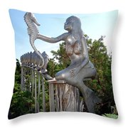 Grand Entranceway Throw Pillow
