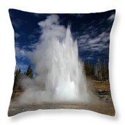 Grand Eruption Throw Pillow