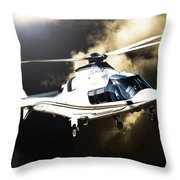 Grand Flying Throw Pillow