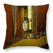 Grand Foyer Staircase Throw Pillow