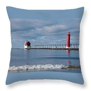 Grand Haven Winter Throw Pillow