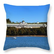 Grand Hotel Mackinac Island Throw Pillow