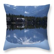 Grand Lake Co Mt Baldy Spring IIi Throw Pillow