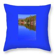 Grand Lake Spring II Throw Pillow