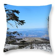 Grand Mesa Co North Side Valley View Throw Pillow