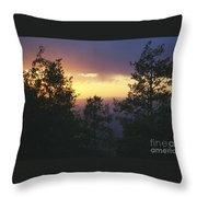 Grand Mesa Sunset Throw Pillow