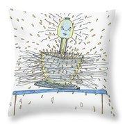 Grand Mix Master  Throw Pillow