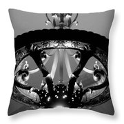 Grand Old Lamp - Vintage Grand Central Station Throw Pillow