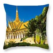 Grand Palace - Cambodia Throw Pillow