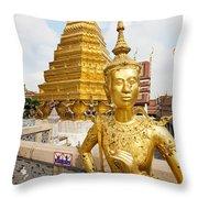 Grand Palace, Bangkok Throw Pillow