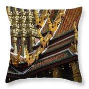 Grand Palace Bangkok Thailand 2 Throw Pillow