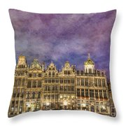 Grand Place Throw Pillow