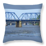 Grand Rapids Crossings Throw Pillow