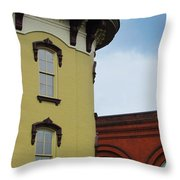 Grand Rapids Downtown Architecture Throw Pillow