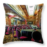 Grand Salon 05 Queen Mary Ocean Liner Extreme Throw Pillow