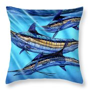 Grand Slam In The Wild Throw Pillow