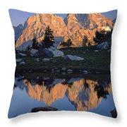 1m9376-grand Teton Reflect 2 Throw Pillow
