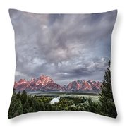 Grand Treeton Throw Pillow