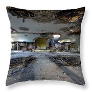Grande Ballroom Detroit Mi #1 Throw Pillow